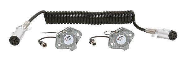 Spiraal kabel set camera Image